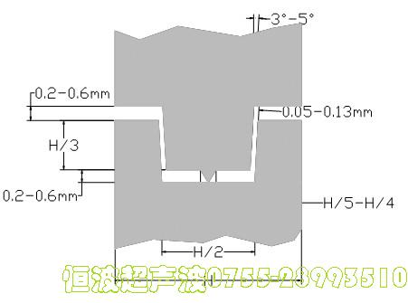 防水型超声波焊接线
